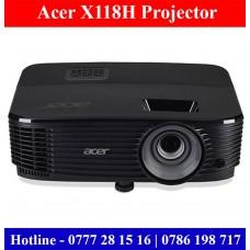 Acer X118H Projectors sale price Sri Lanka