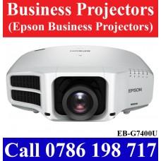 Epson EB-G7400U Business Projectors in Sri Lanka sale price